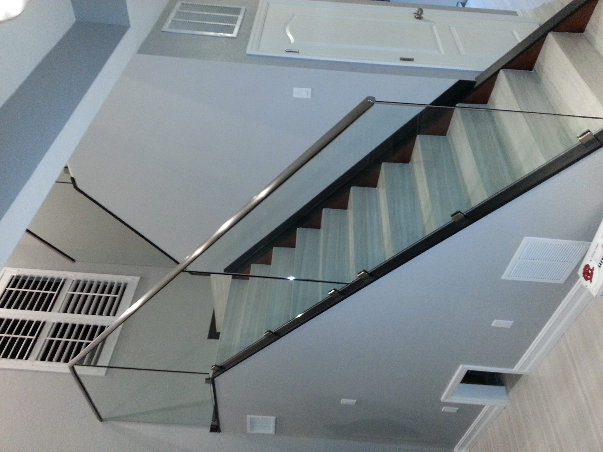 custom cut glass rails